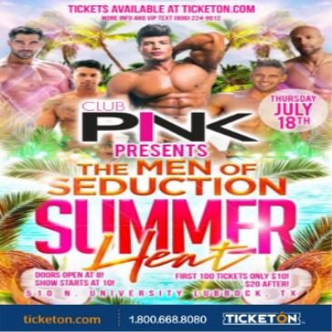 THE MEN OF SEDUCTION SUMMER HEAT