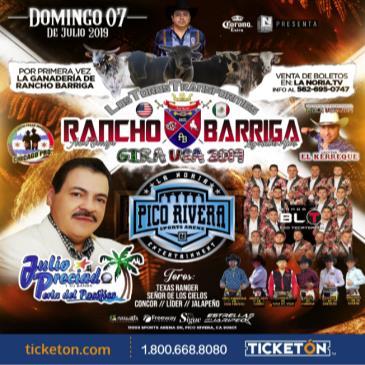 RANCHO BARRIGA-LOS TOROS TRANSFORMES- GIRA USA 2019