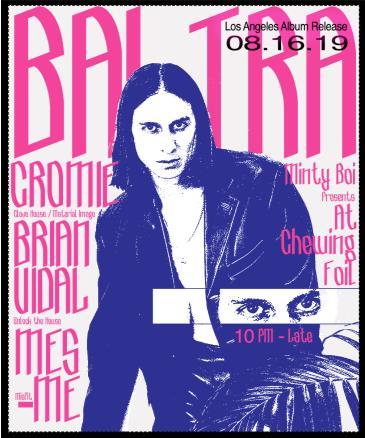 Baltra LA Album Release with Cromie, Mesmé, Brian Vidal: Main Image