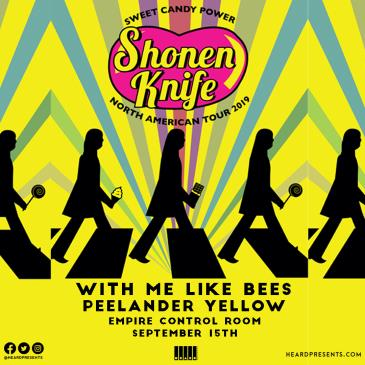 Shonen Knife with Me Like Bees and Peelander Yellow: Main Image