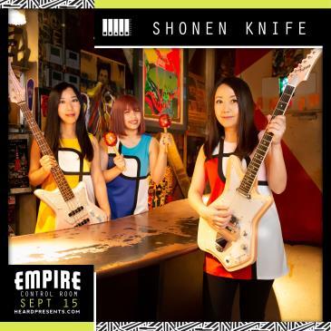 Shonen Knife with Me Like Bees: Main Image