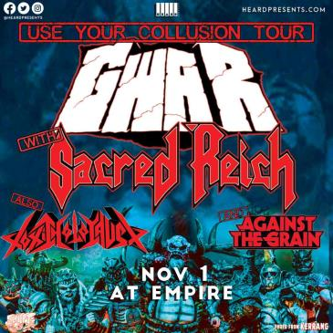 GWAR with Sacred Reich, Toxic Holocaust, & Against The Grain: Main Image