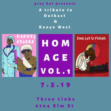 Homage Vol 1: A Tribute to Kanye & Outkast: Main Image