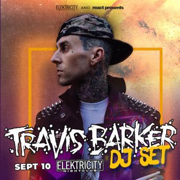 TRAVIS BARKER DJ SET: Main Image