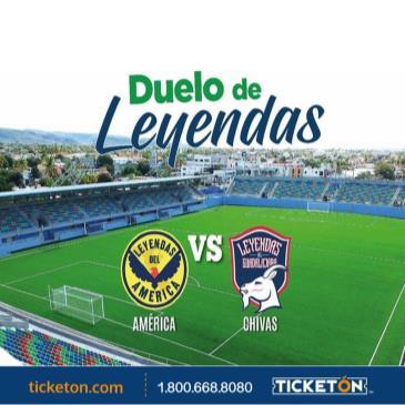 LEYENDAS AMERICA VS  LEYENDAS CHIVAS