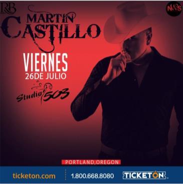 MARTIN CASTILLO: Main Image