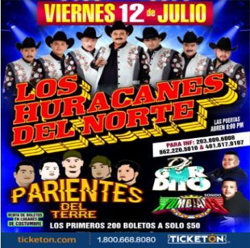 LOS HURACANES DEL NORTE: Main Image