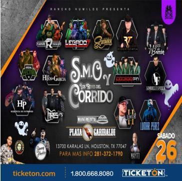 SMO Y LOS REYES DEL CORRIDO: Main Image