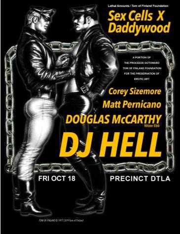 Sex Cells X DADDYWOOD: DJ Hell: