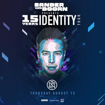 Sander Van Doorn: 15 Years Identity Tour: Main Image