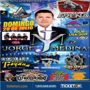 JORGE MEDINA TOUR USA 2019 RODEO BAILE