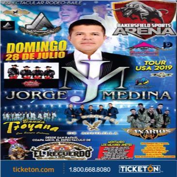 JORGE MEDINA TOUR USA 2019