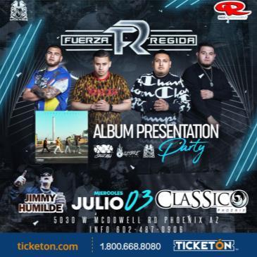 FUERZA REGIDA ALBUM PRESENTATION PARTY