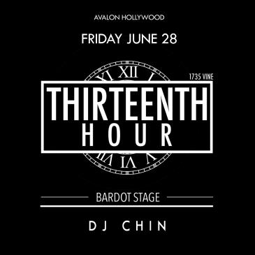 BARDOT FRIDAY 6.28 AFTER HOURS: THIRTEENTH HOUR-img