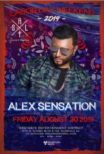 Alex Sensation CANCELLED: Main Image