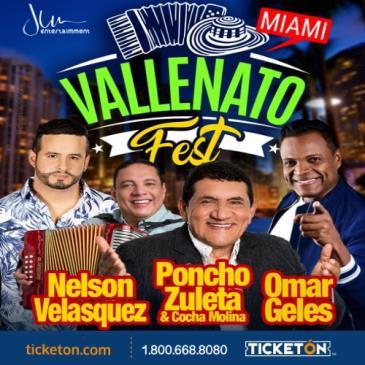 cancelado/ VALLENATO FEST MIAMI: Main Image