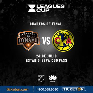 CLUB AMERICA VS HOUSTON DYNAMO