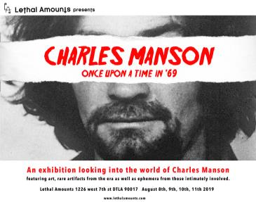 Manson Family Exhibit - Once Upon A Time in 1969: Main Image