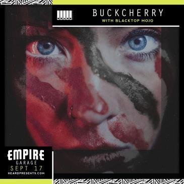 Buckcherry with Blacktop Mojo, Black Heart Saints: Main Image