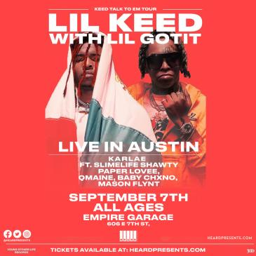 Lil Keed with Lil Gotit ft. Karlae, Slimelife Shawty + more-img