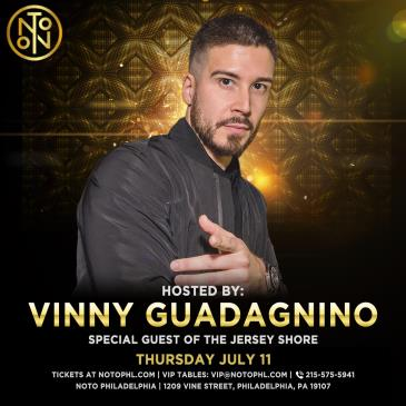 Vinny Guadagnino: Special Guest of the Jersey Shore: Main Image