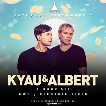 Kyau & Albert – 4 Hour Set: Main Image