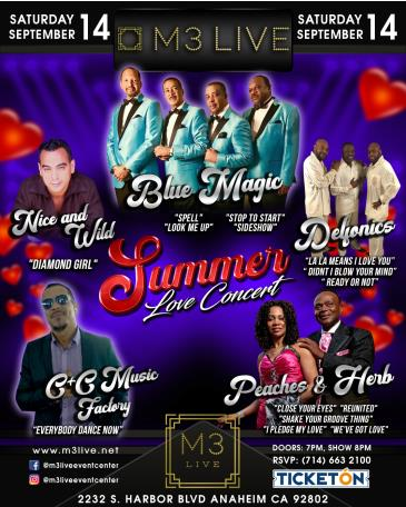 CANCELED-SUMMER LOVE CONCERT: Main Image