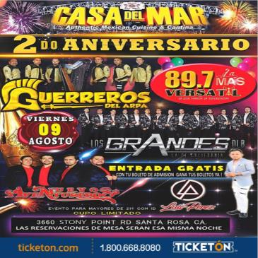 2DO ANIVERSARIO LA MAS VERSATIL 89.7