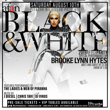 PIRANHA PRESENTS AFAN BLACK & WHITE AFTER PARTY: Main Image