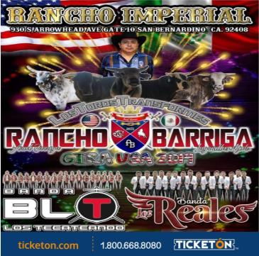 RANCHO BARRIGA GIRA USA 2019: Main Image