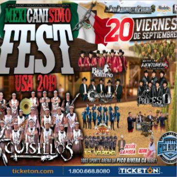 MEXICANISIMO FEST CON CUISILLOS