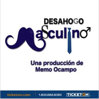 DESAHOGO MASCULINO: Main Image