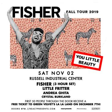 Fisher: You Little Beauty Tour: Main Image