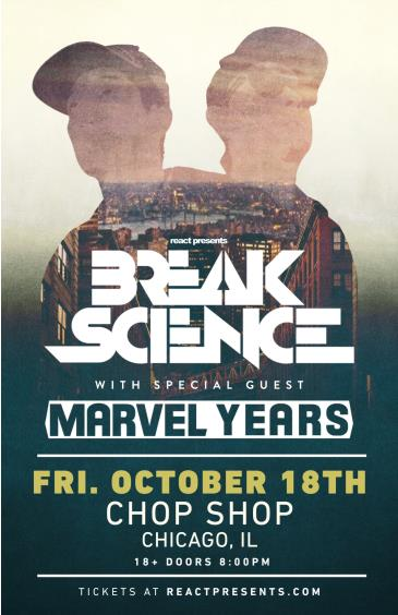 Break Science with Marvel Years: Main Image