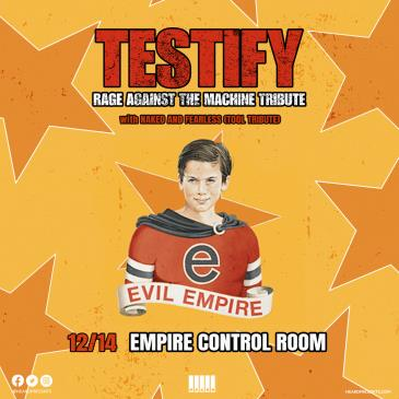 Testify: Rage Against the Machine Tribute, Naked & Fearless-img