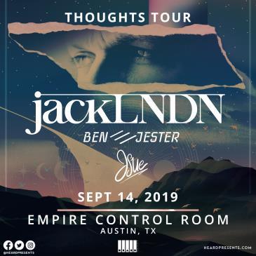JackLNDN with JSue, Ben /// Jester: Main Image