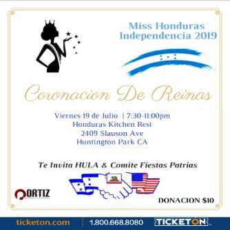 Miss Honduras Independencia 2019: Main Image