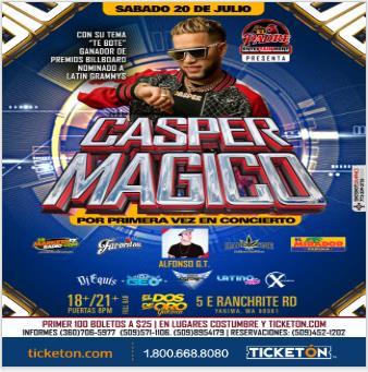 CASPER MAGICO: Main Image