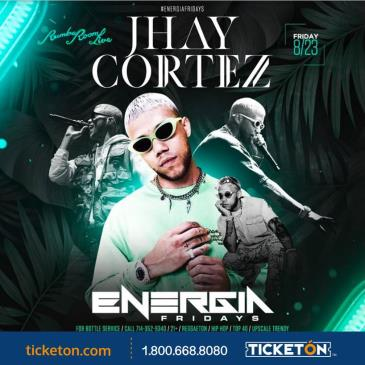 JHAY CORTEZ PERFORMING LIVE @RUMBA ROOM LIVE