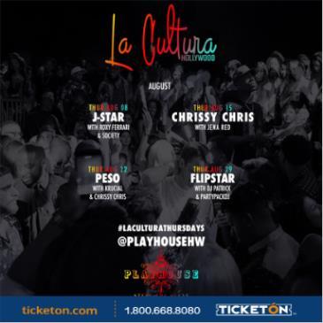 LA CULTURA THURSDAYS | DJ J-STAR AT PLAYHOUSE: Main Image