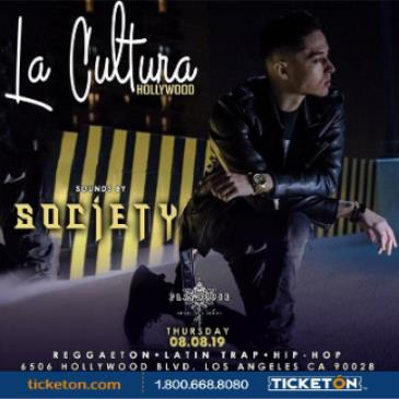 LA CULTURA THURSDAYS | DJ SOCIETY AT PLAYHOUSE