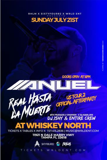 CANCELLED - Anuel AA: OFFICIAL AFTERPARTY - Tampa, FL: Main Image