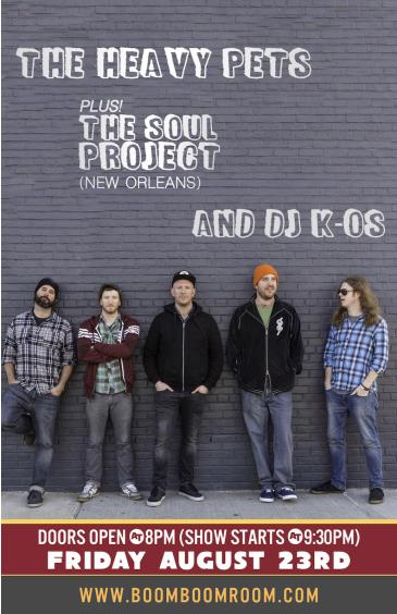 THE HEAVY PETS + THE SOUL PROJECT (New Orleans): Main Image