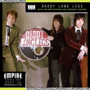 Daddy Long Legs with The Reputations, Teenage Cavegirl-img