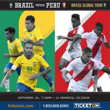 BRAZIL VS PERU: Main Image