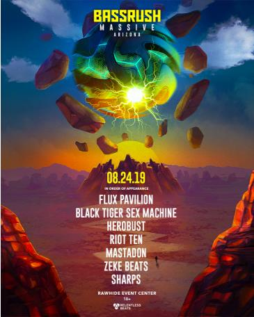 Bassrush Massive Arizona 2019: Main Image