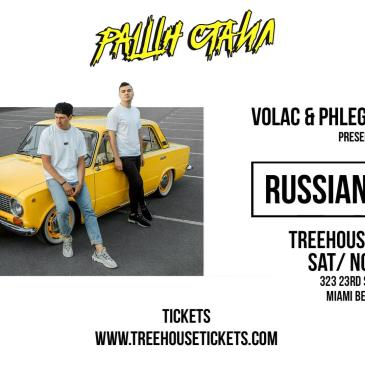 VOLAC & PHLEGMATIC DOGS Presents RUSSIAN STYLE @ Treehouse-img