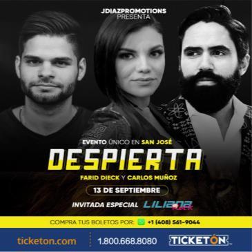 DESPIERTA - FARID DIECK Y CARLOS MUNOZ