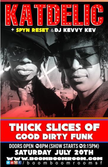 "KATDELIC (""Big-Up P-Funk Party"") + SPYN RESET (Seattle): Main Image"