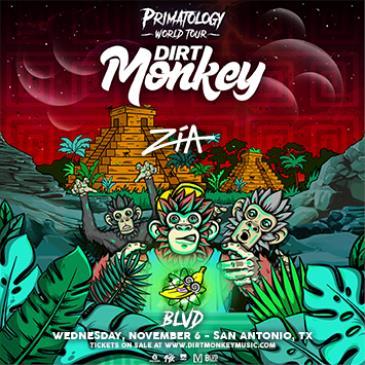 0aa2b53a7a2b6 Buy Tickets to Dirt Monkey - SAN ANTONIO in San Antonio on Nov 06, 2019